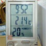空気の乾燥にご注意。  2006.01.28