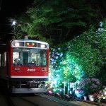 今年も箱根登山鉄道の「あじさい電車」が走ります。