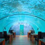 一度は行ってみたい! ヒルトン・モルジブの「水中レストラン」・PART1