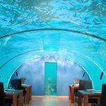 一度は行ってみたい! ヒルトン・モルジブの「水中レストラン」・PART2